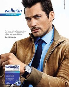 David Gandy Wellman vitabiotics