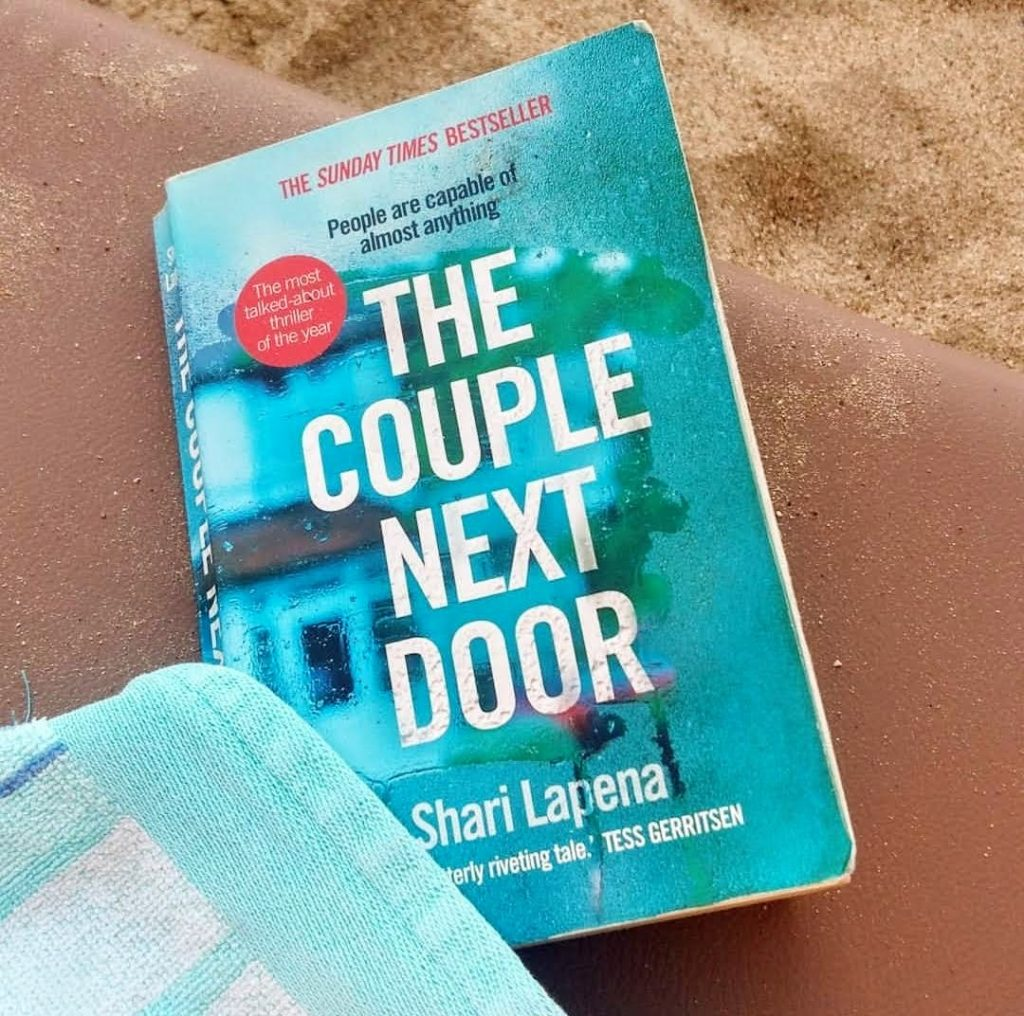 Changing reading habits - my first thriller book (The Couple Next Door)